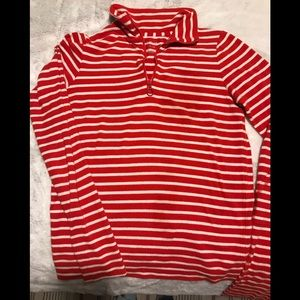 Aerie Red and White Striped Christmas PJ